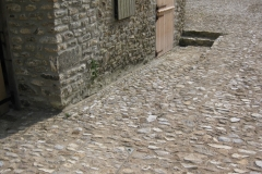 Small Faced Flint Stone Cobbled Floor
