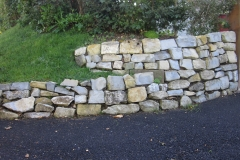 Random (unsorted) Field Lias Dry Stone Wall