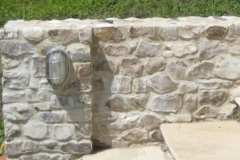 Large & Medium Faced Flint Stone Mixed