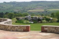 Large, Medium & Small Faced Flint Stone Mixed
